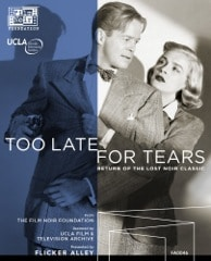 photo cover of Blu-Ray Disc featuring Lizabeth Scott and Dan Duryea