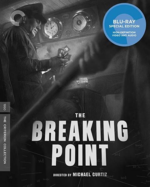 cover art for Blu-ray Disc The Breaking Point featuring Wallace Ford