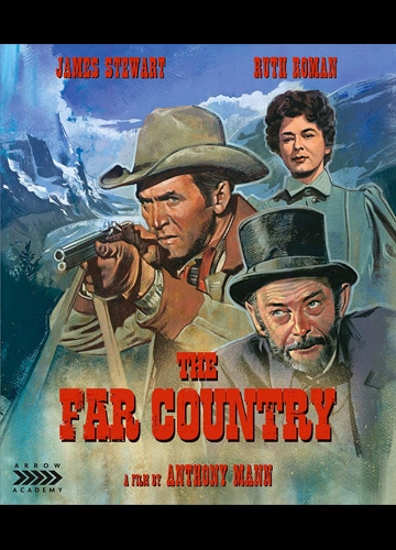 photo cover of Blu-ray Disc featuring James Stewart and Ruth Roman