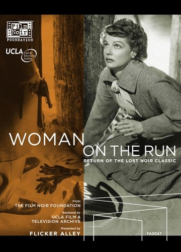 photo cover of Blu-ray Disc woman on the run featuring ann sheridan
