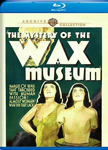 Blu-ray cover art The Mystery of the Wax Museum